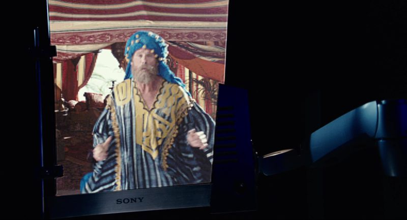 Sony Monitor Used by Adam Sandler in Click (2006) Movie Product Placement