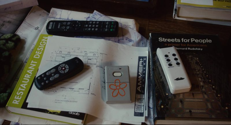Sony TV Remote Control Used by Adam Sandler in Click (2006) Movie Product Placement