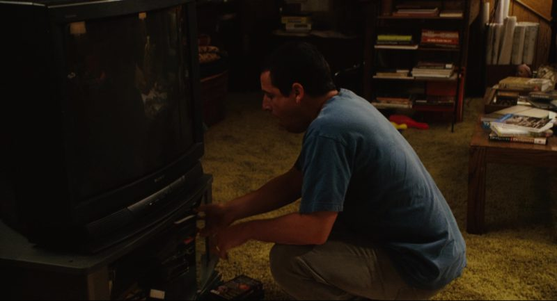 Sony TV Used by Adam Sandler in Click (2006) Movie Product Placement