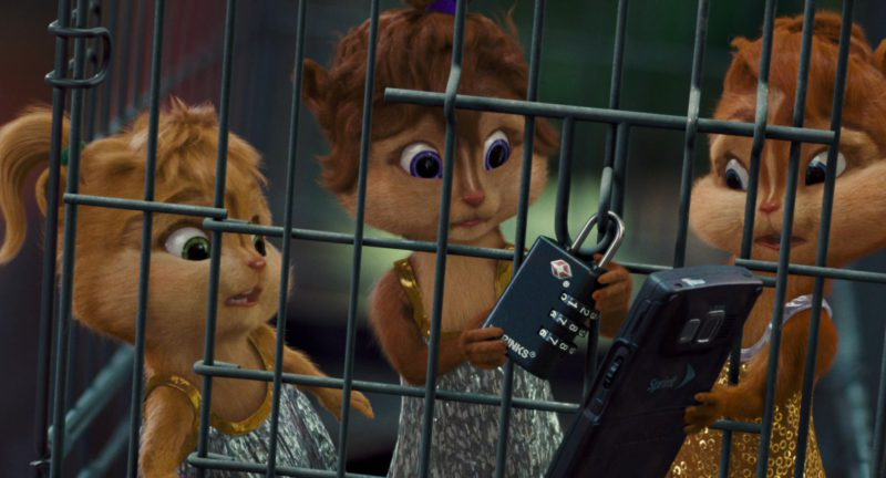 Sprint Phone in Alvin and the Chipmunks: The Squeakquel (2009) - Movie Product Placement
