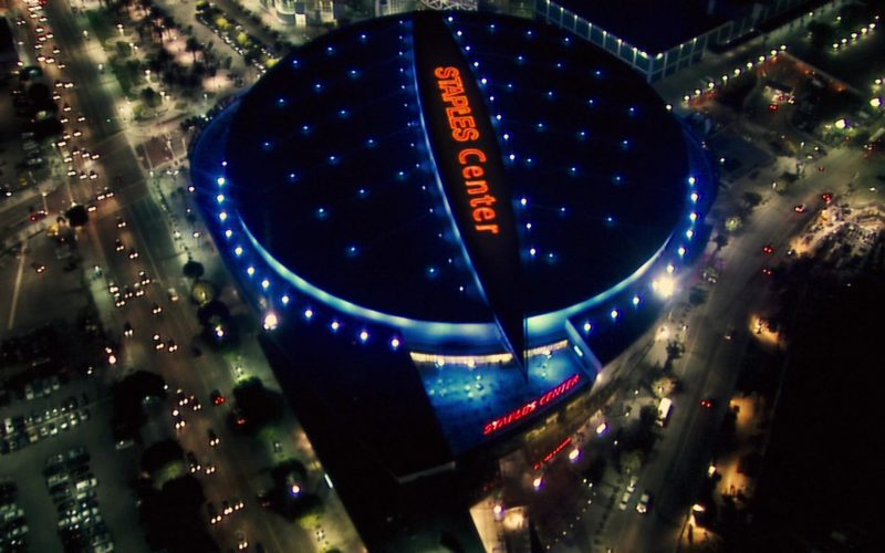 Staples Center in Alvin and the Chipmunks (1)