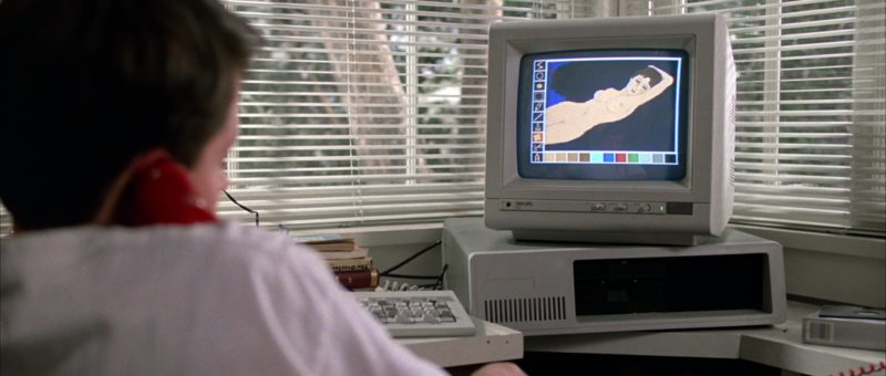 Taxan Monitor Used by Matthew Broderick in Ferris Bueller's Day Off (1986) Movie