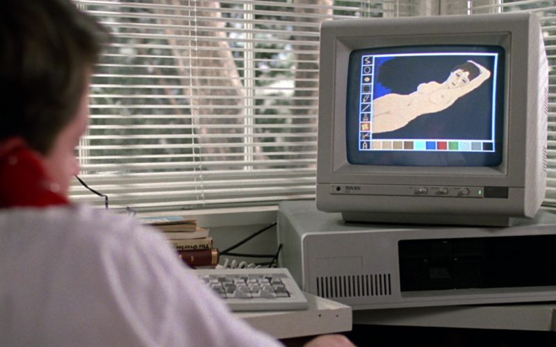 Taxan Monitor Used by Matthew Broderick in Ferris Bueller's Day Off (2)