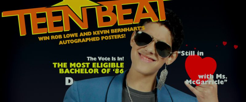 Teen Beat Magazine in That's My Boy (2012) - Movie Product Placement