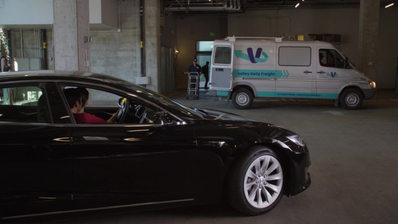 Tesla Model S Cars in Silicon Valley: Initial Coin Offering (2018) - TV Show Product Placement