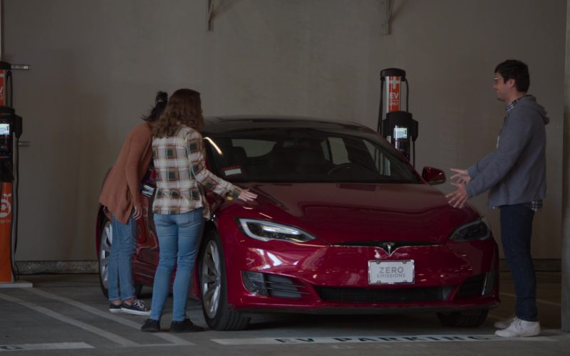 Tesla Model S Cars in Silicon Valley (6)