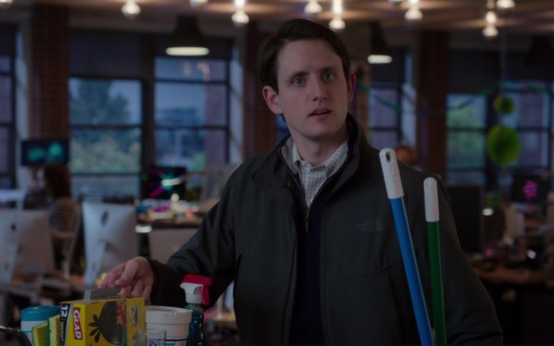 The North Face Jacket Worn by Zach Woods (Jared Dunn)