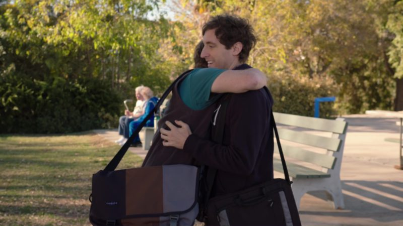 Timbuk2 Laptop Bag in Silicon Valley: Tech Evangelist (2018) TV Show Product Placement