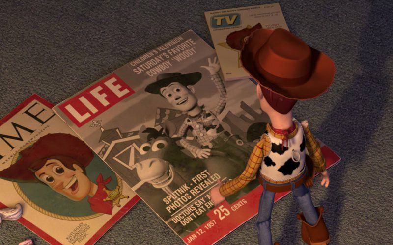 Time And Life Magazines in Toy Story 2
