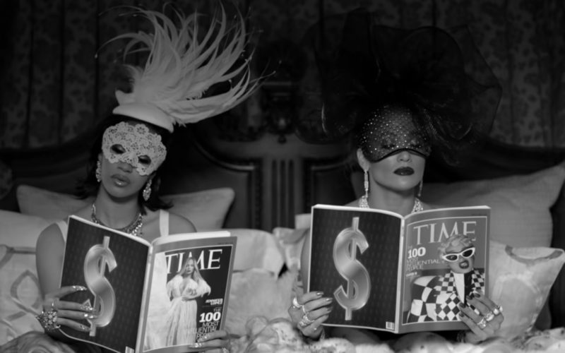 Time Magazines in Dinero by Jennifer Lopez ft. DJ Khaled, Cardi B (1)