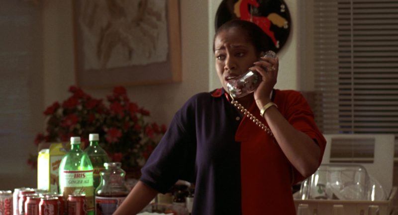 Tommy Hilfiger Polo Shirt Worn by Regina King in Jerry Maguire (1996) - Movie Product Placement