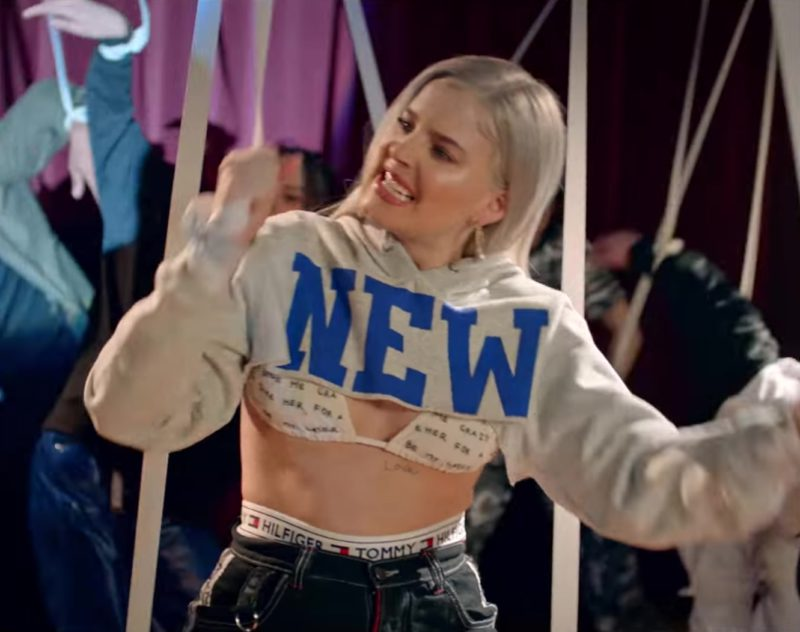 Tommy Hilfiger Underwear Worn by Anne-Marie in 2002 (2018) Official Music Video Product Placement