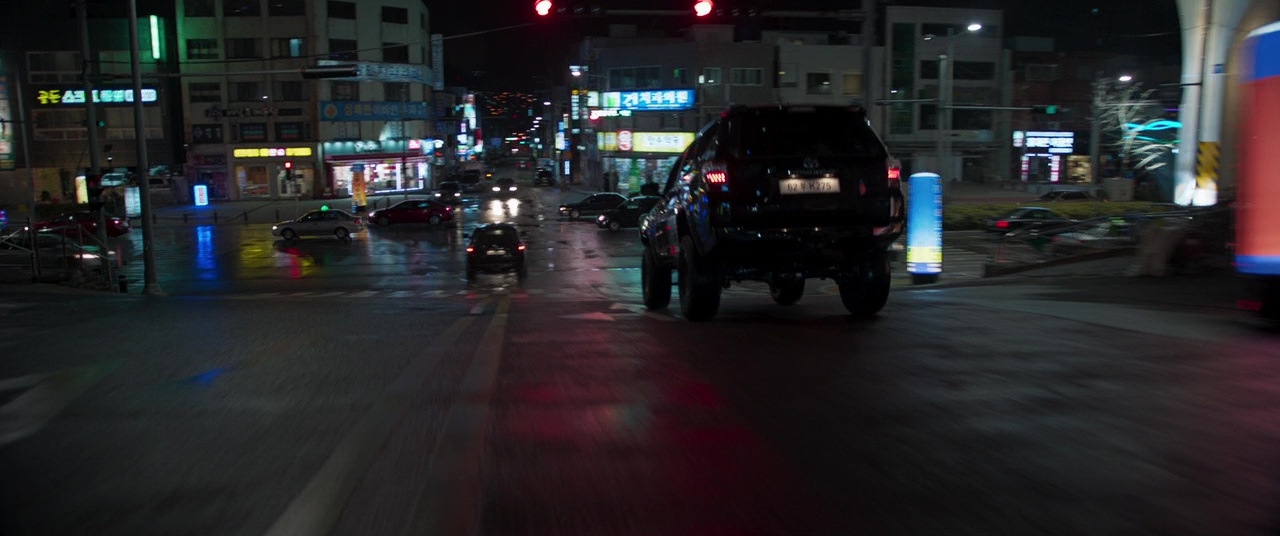 Toyota 4runner Suvs In Black Panther 2018 Movie