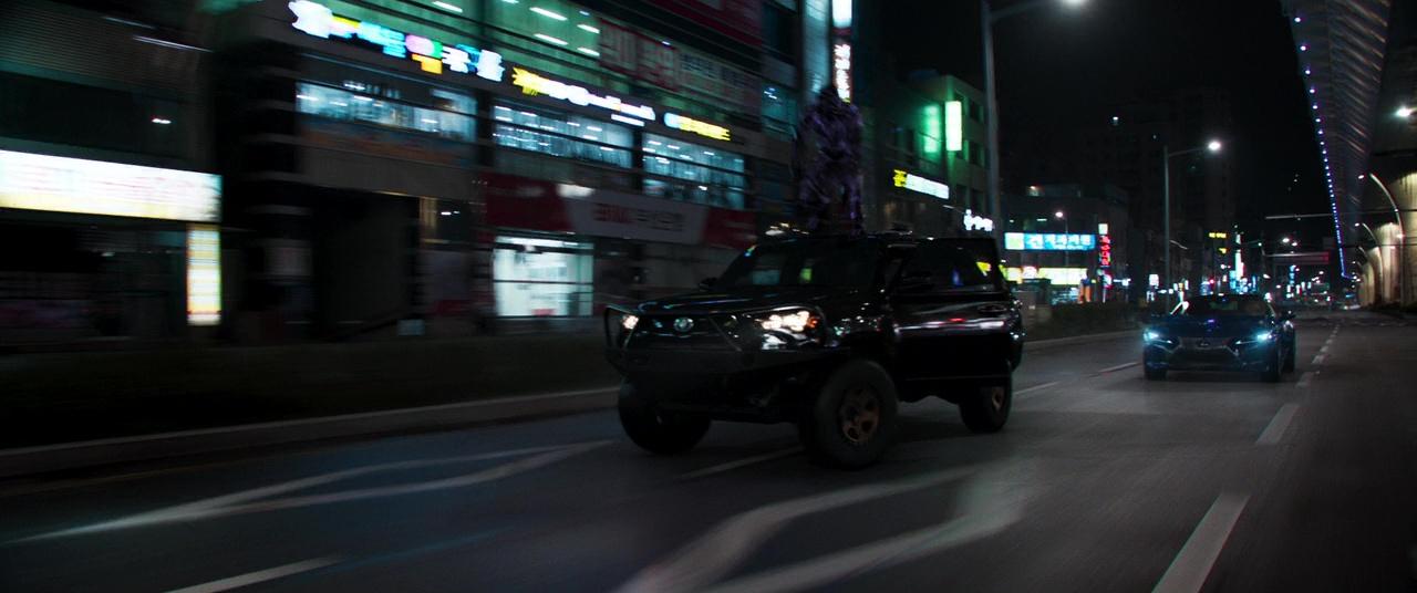American Car Brands >> Toyota 4Runner Suvs in Black Panther (2018) Movie