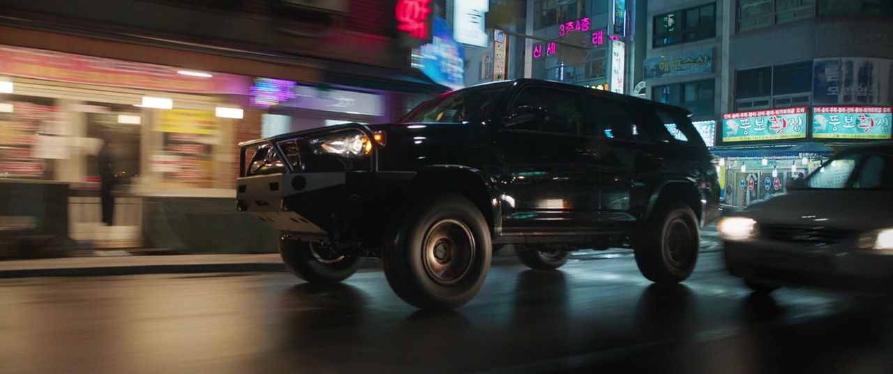 Toyota 4runner Suvs In Black Panther 2018 Movie