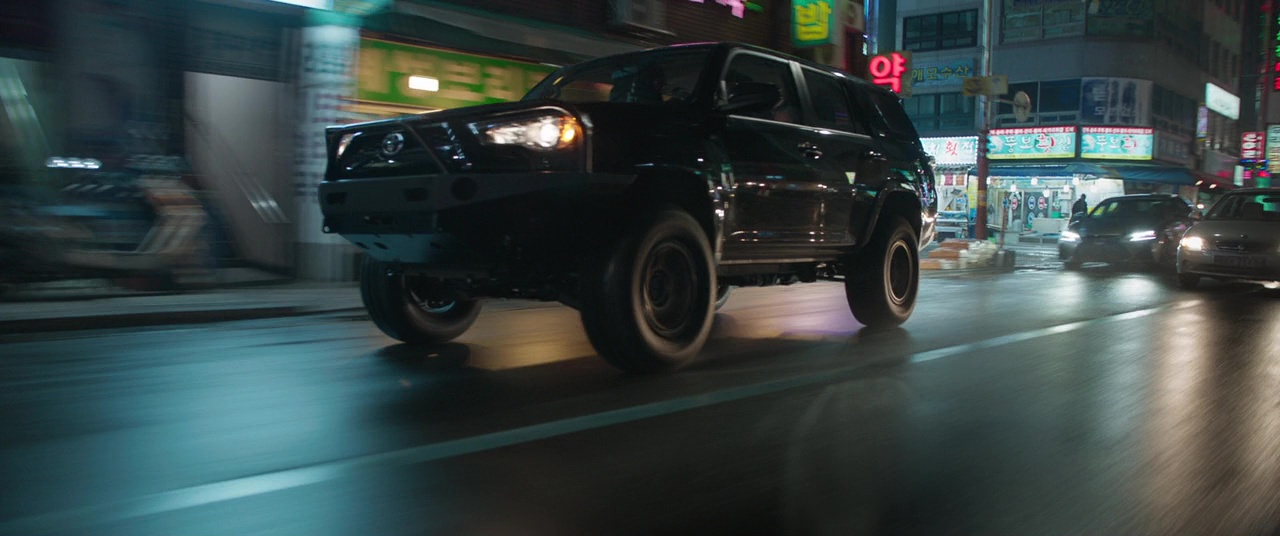 Toyota 4Runner Suvs in Black Panther (2018) Movie