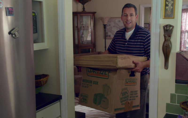 U-Haul Box Used by Adam Sandler in The Week Of (6)