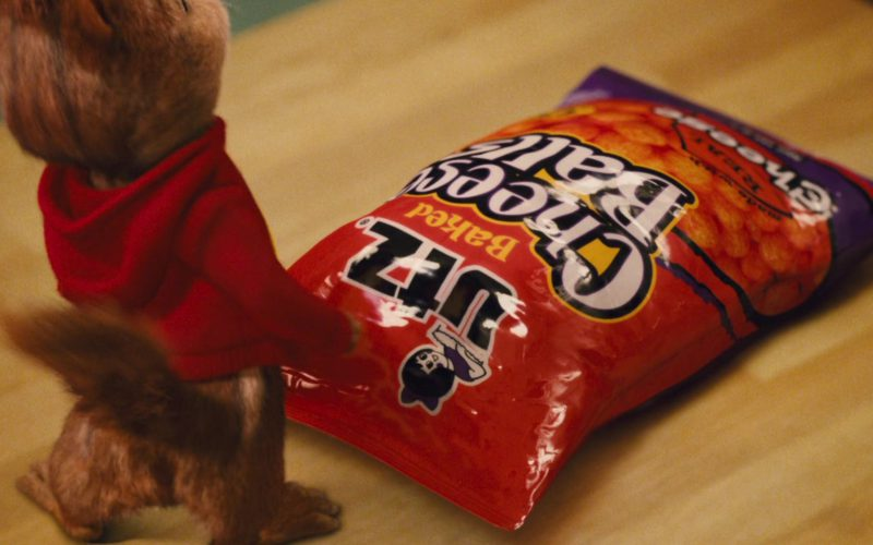 UTZ Cheese Balls in Alvin and the Chipmunks (4)