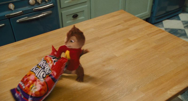 UTZ Cheese Balls in Alvin and the Chipmunks: The Squeakquel (2009) - Movie Product Placement