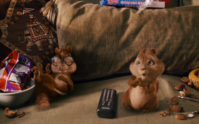 UTZ Chips and Red Vines in Alvin and the Chipmunks (1)