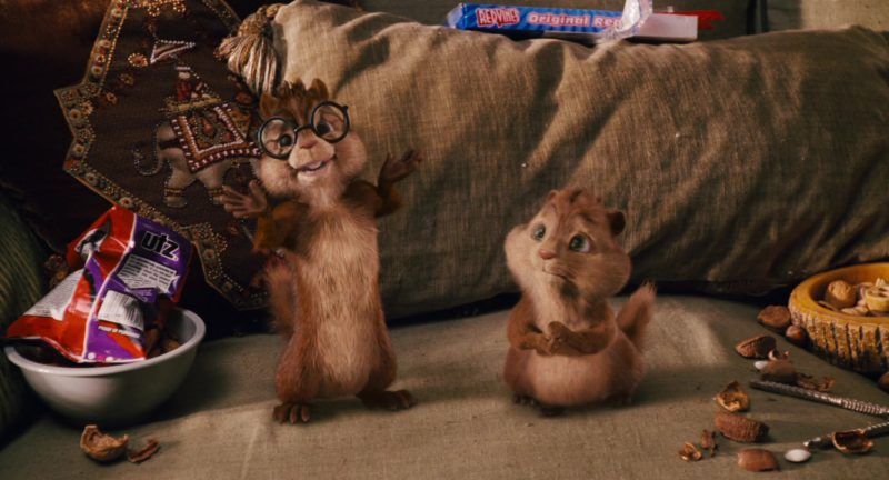 UTZ Chips and Red Vines in Alvin and the Chipmunks (2007) Movie