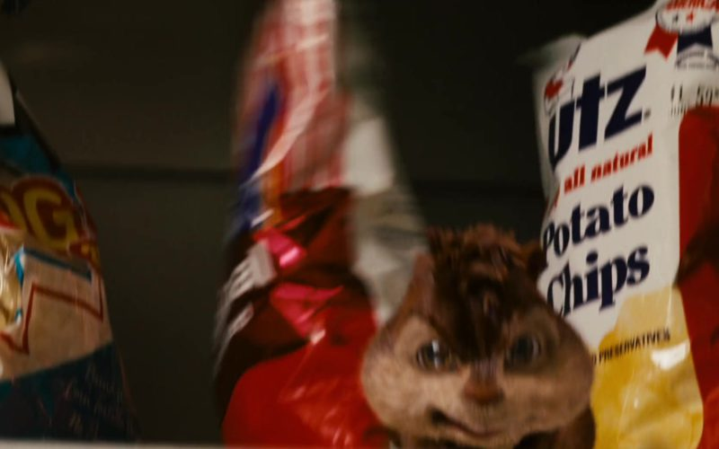 UTZ Potato Chips in Alvin and the Chipmunks