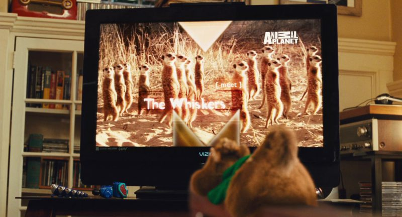 Vizio TV and Animal Planet in Alvin and the Chipmunks: The Squeakquel (2009) Movie Product Placement