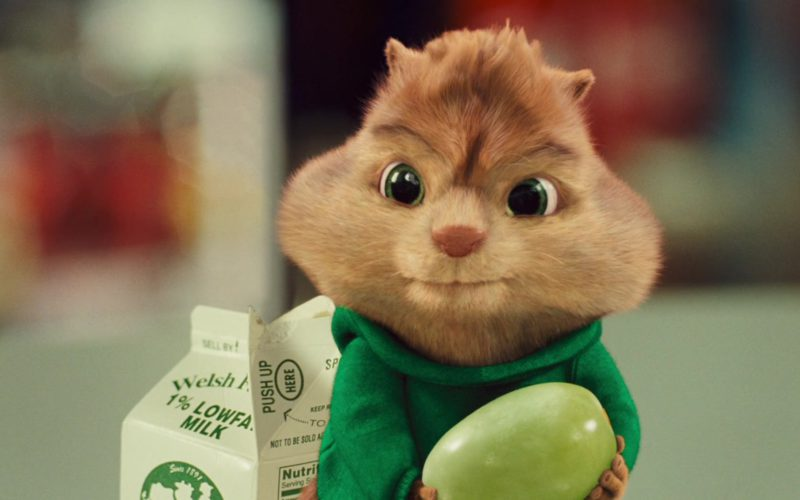 Welsh Farms Milk in Alvin and the Chipmunks (2)