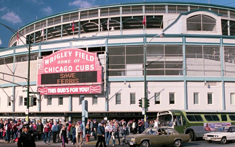 Wrigley Field in Ferris Bueller's Day Off