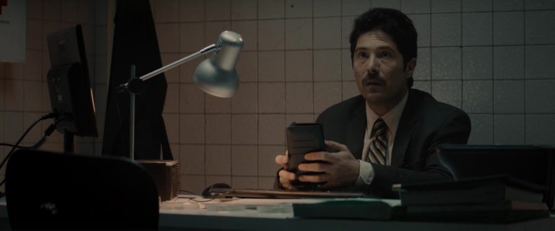 AOC Monitors in Gringo (2018) Movie Product Placement