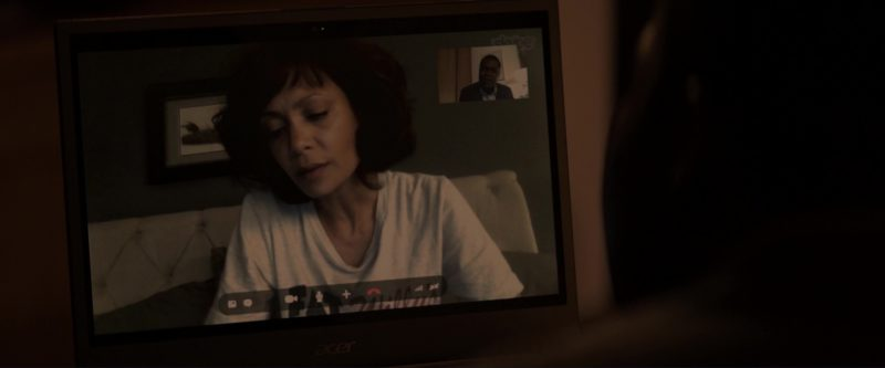 Acer Laptop and Skype Used by David Oyelowo in Gringo (2018) - Movie Product Placement