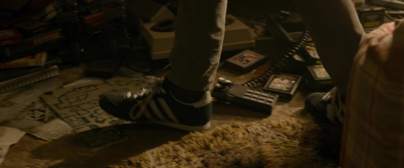 Adidas Boys Sneakers Worn by Young James Donovan Halliday in Ready Player One (2018) Movie Product Placement