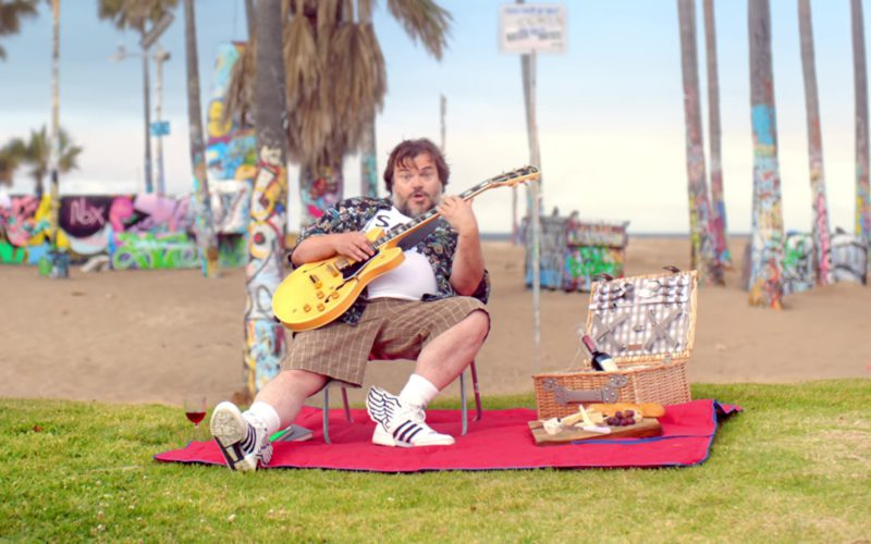 Adidas Sneakers Worn by Jack Black in Humility by Gorillaz (1)