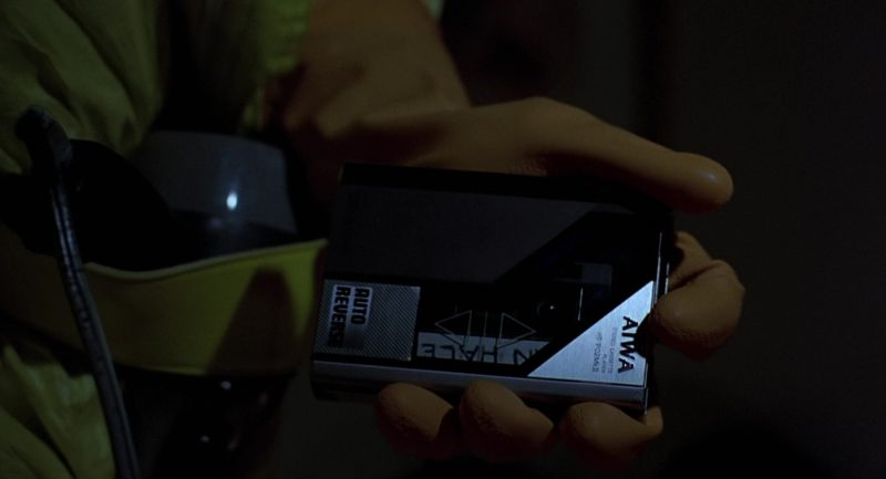 Aiwa Portable Cassette Player Used by Michael J. Fox (Marty McFly) in Back to the Future (1985) Movie Product Placement