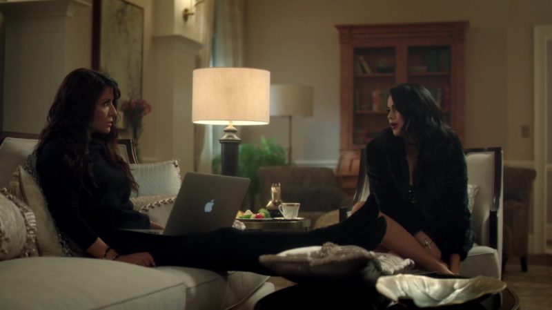 Apple Laptop Used by Marisol Nichols (Hermione Lodge) in Riverdale: In a Lonely Place (2017) - TV Show Product Placement
