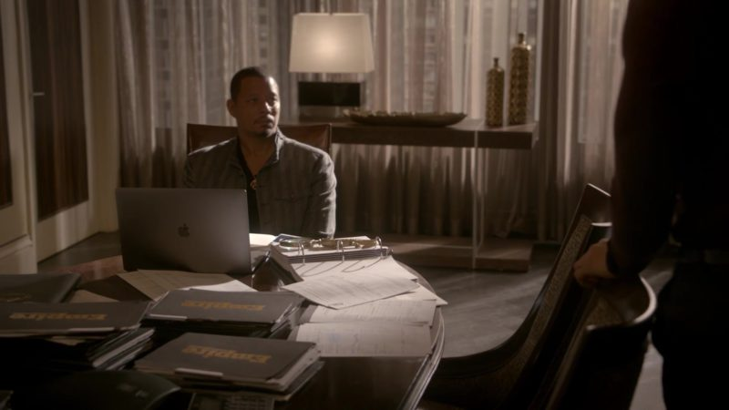 Apple MacBook Laptop Used by Terrence Howard in Empire: Of Hardiness Is Mother (2018) TV Show Product Placement