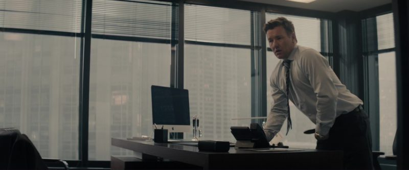 Apple iMac Computer Used by Joel Edgerton in Gringo (2018) Movie Product Placement