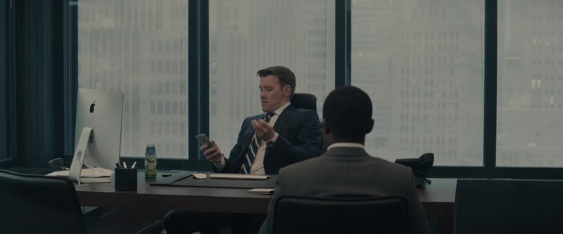 Apple iMac Computer and iPhone Smartphone Used by Joel Edgerton in Gringo (2018) - Movie Product Placement