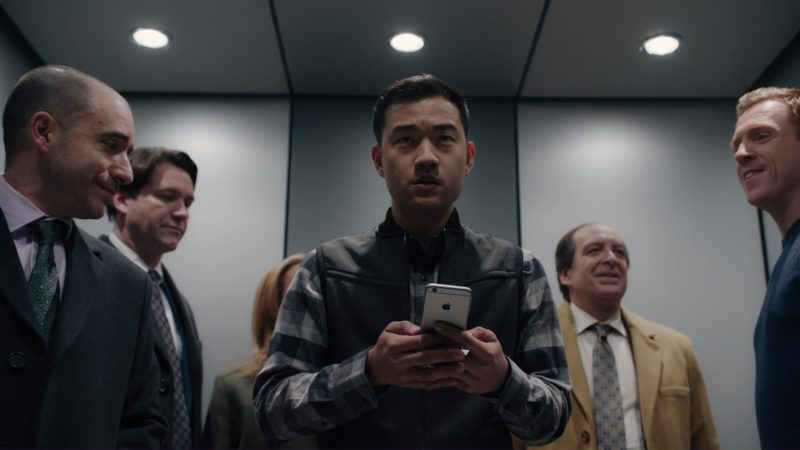 """Apple iPhone Used by Daniel K. Isaac in Billions: """"Redemption"""" (2018) TV Show Product Placement"""