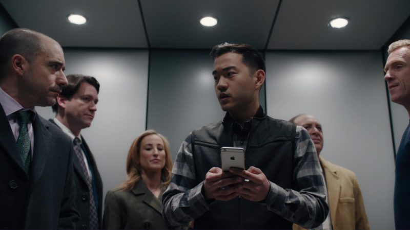 "Apple iPhone Used by Daniel K. Isaac in Billions: ""Redemption"" (2018) - TV Show Product Placement"