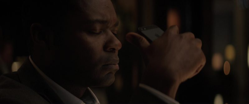 Apple iPhone Used by David Oyelowo in Gringo (2018) Movie Product Placement