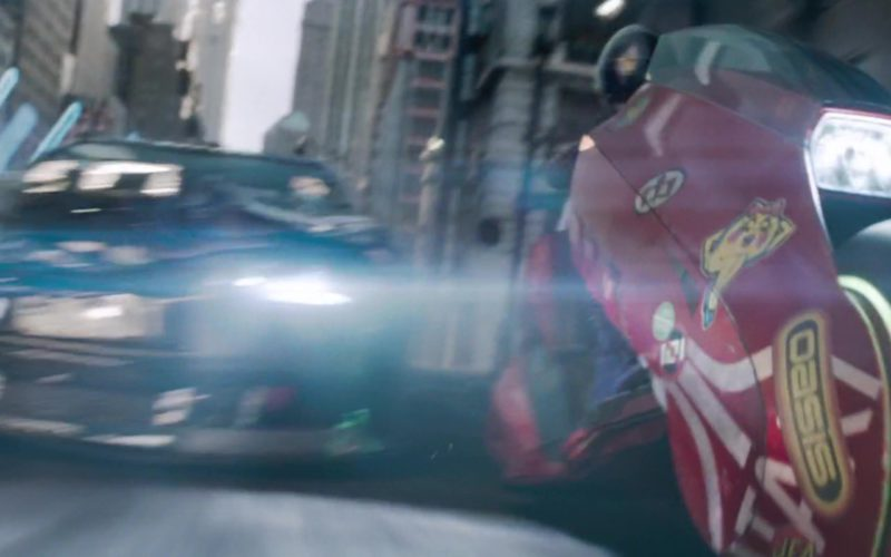 Atari Sticker On Motorcycle Used by Art3mis (Samantha Evelyn Cook) in Ready Player One (2)