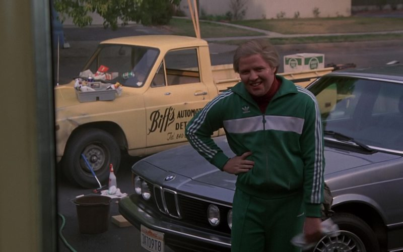 BMW 733i [E23] and Adidas Tracksuit Worn by Thomas F. Wilson (Biff Tannen) (1)