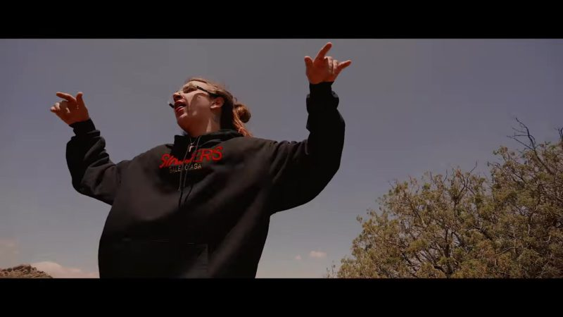 """Balenciaga Hoodie (Sinners) Worn by Yung Pinch in """"I Know You"""" ft. Lil Skies (2018) Official Music Video Product Placement"""