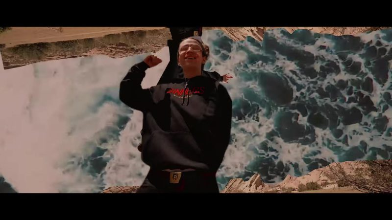 """Balenciaga Hoodie (Sinners) Worn by Yung Pinch in """"I Know You"""" ft. Lil Skies (2018) - Official Music Video Product Placement"""