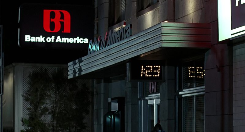 Bank Of America in Back to the Future (1985) Movie Product Placement