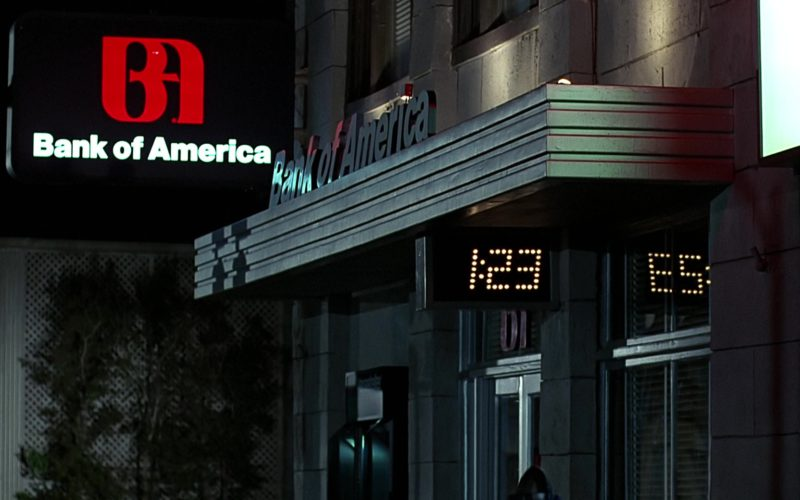 Bank Of America in Back to the Future
