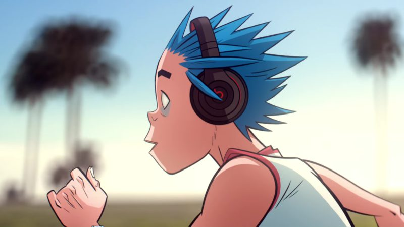 Beats Headphones in Humility by Gorillaz (2018) - Official Music Video Product Placement