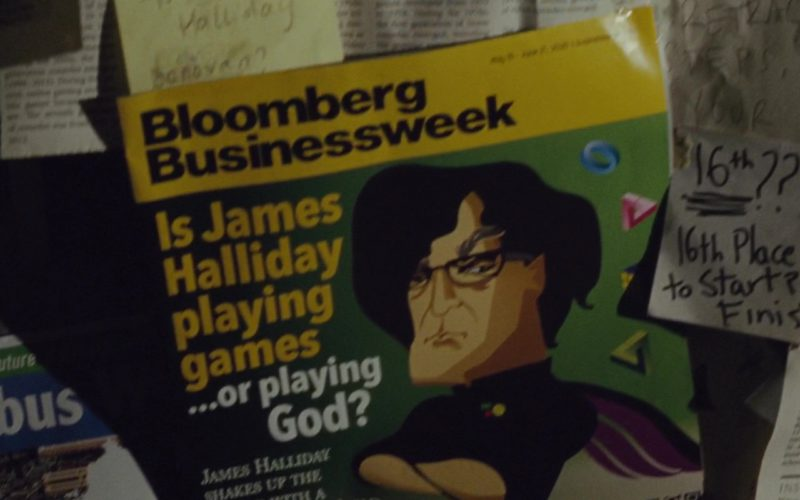 Bloomberg Businessweek Magazine in Ready Player One