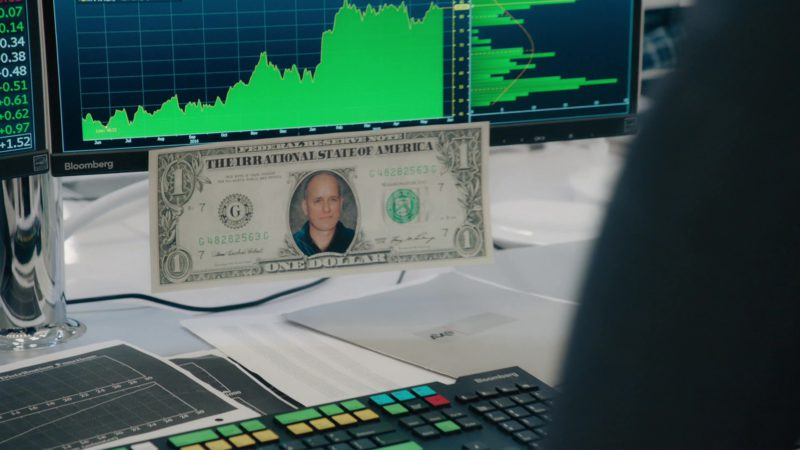 "Bloomberg Terminals Used by Kelly AuCoin (""Dollar"" Bill Stearn) in Billions: ""Icebreaker"" (2018) - TV Show Product Placement"